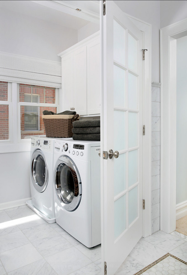 Laundry Room. Classic Laundry Room #LaundryRoom