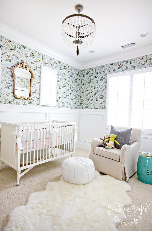 Nursery. Traditional Nursery Ideas. #Nursery #TraditionalNursery Studio McGee.