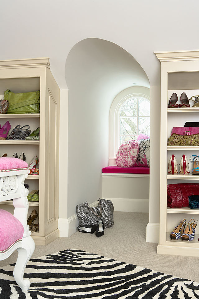 Tag archive for elegant interiors home bunch interior for Dormer closet design
