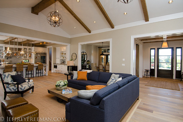 Open Floor Plan. Main floor with open floor plan. #OpenFloorPlan