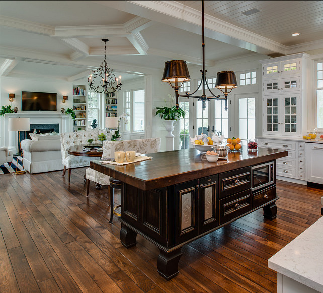 open floor plan kitchen designs coastal home with traditional interiors home bunch 7184