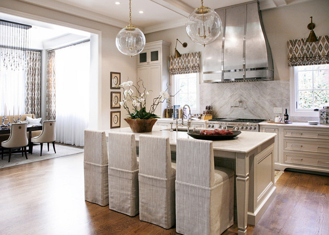 Open Kitchen Design. Open Kitchen with dining room. Open Kitchen Layout. #OpenKitchen #OpenKitchenLayout #KitchenLayout Barbara Brown Photography. Bell Kitchen and Bath Studios.