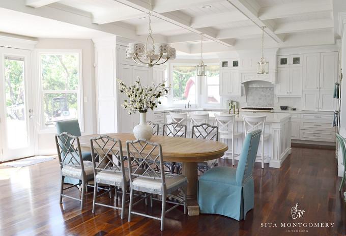 Open Layout Kitchen. Sita Montgomery Interiors.