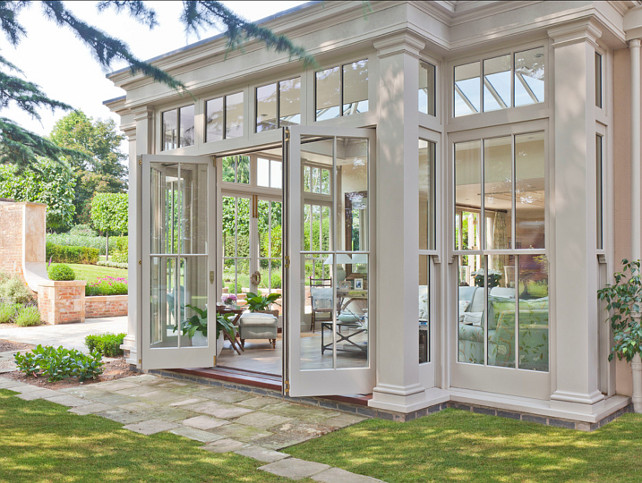 Old Age Charm With Your Orangery Residence