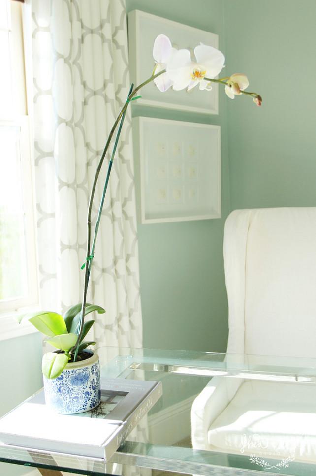 Orchid. White Orchid Interiors. White Orchid Interior Ideas. #Orchid #WhiteOrchid #Interiors #Homedecor Studio McGee.