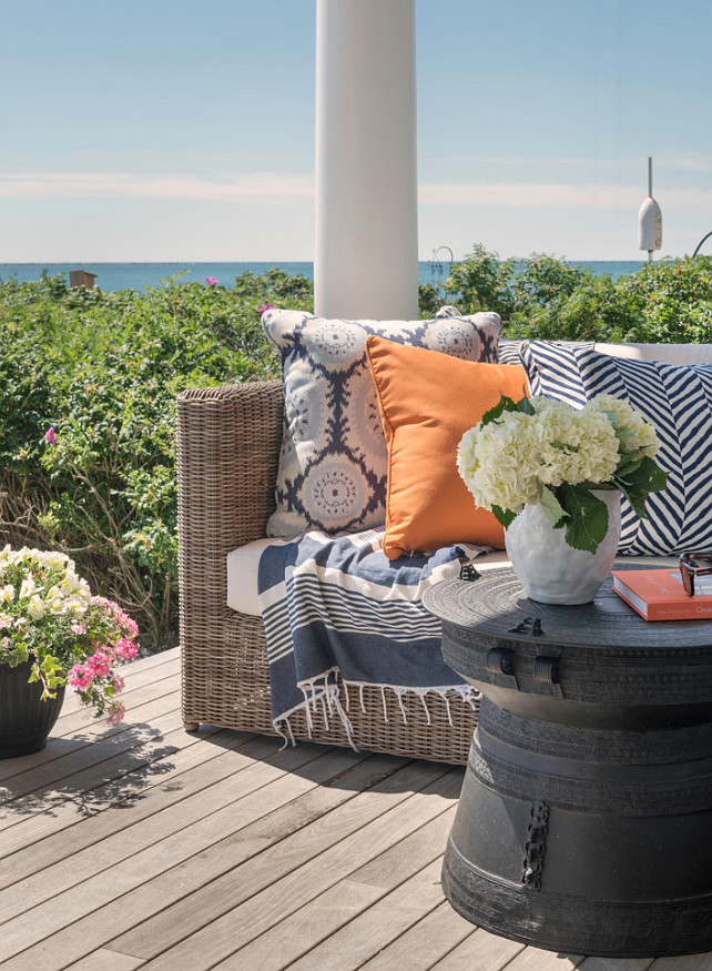 Outdoor Fabric Ideas. Outdoor patio fabric ideas. #Outdoorfabric Kate Jackson Design.