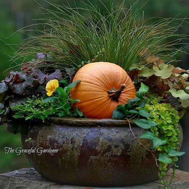 Fall decorating ideas interior design ideas home bunch Fall outdoor decorating with pumpkins