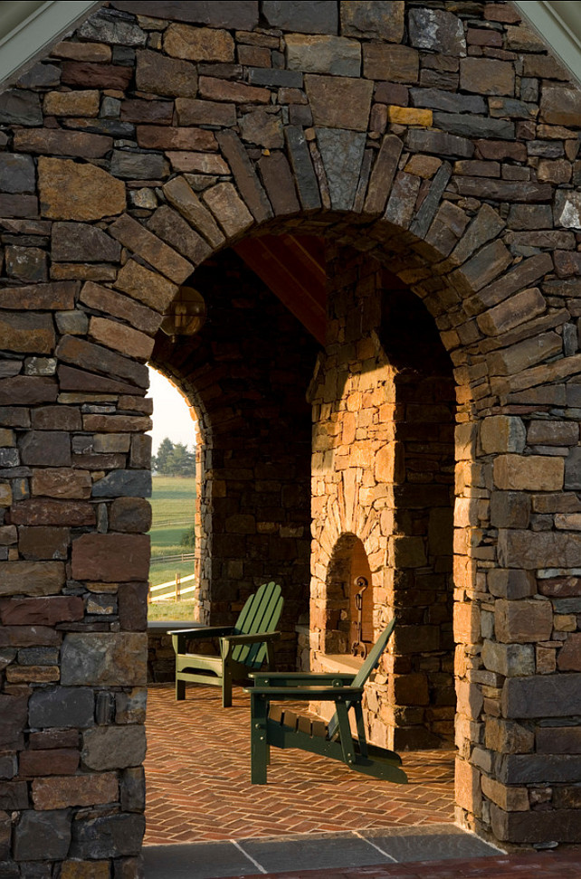 Outdoor Fireplace. Outdoor Fireplace Design Ideas. Griffiths Construction, Inc.