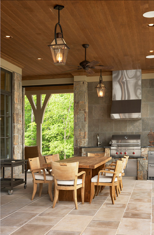 Outdoor Kitchen. Outdoor Kitchen Ideas. Practical and beautiful outdoor kitchen. #OutdoorKitchen