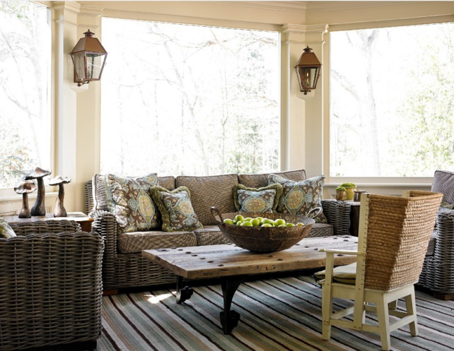Outdoor Living Room #OutdoorLivingRoom  #OutdoorRoom  Liz Williams Interiors.