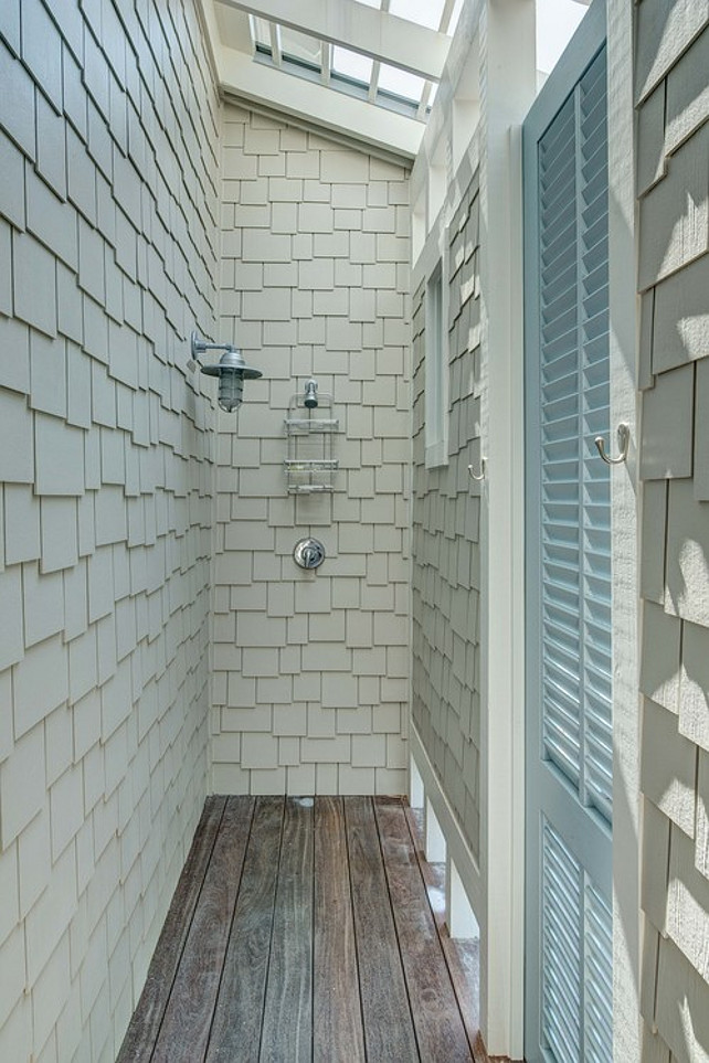 Outdoor Beach Beach House Outdoor Shower