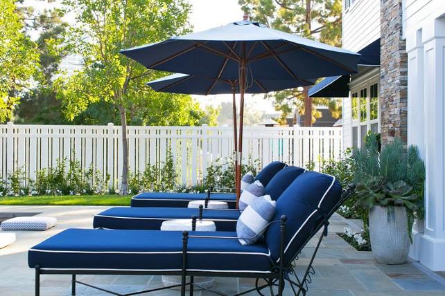 Outdoor pool furniture. #outdoor #pool #furniture Kelly Nutt Design.