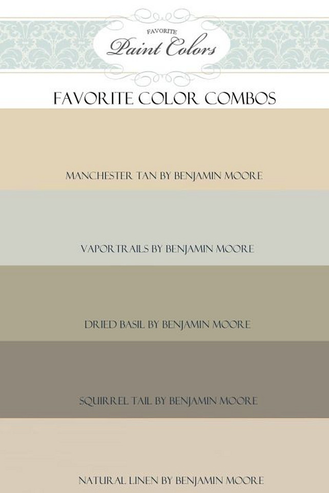 Paint Color Combos Favorite Palette Colorpalette Favoritecolorcombos Via