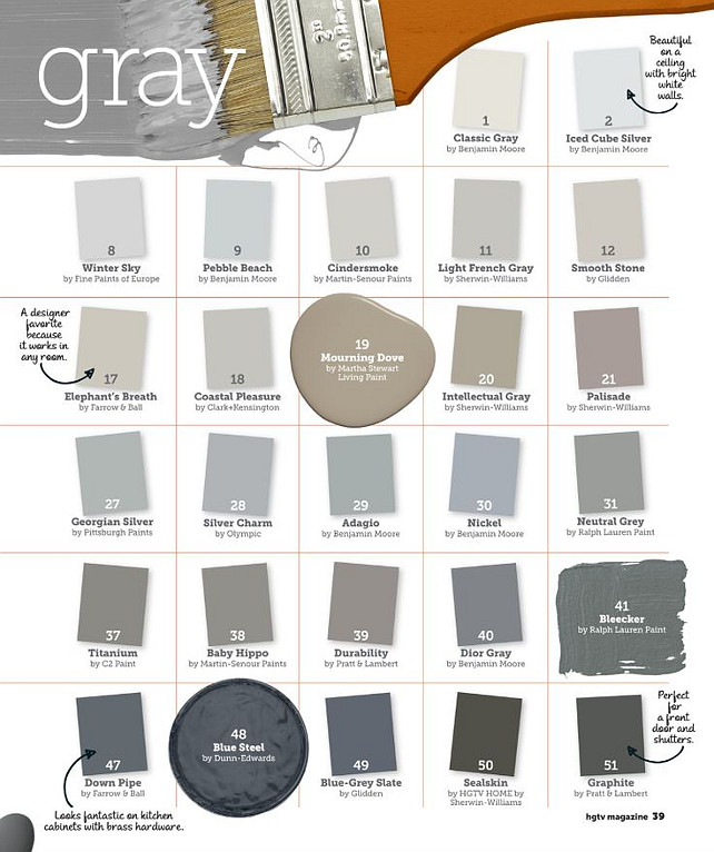 Paint Color Gray Ideas Designer Tips For