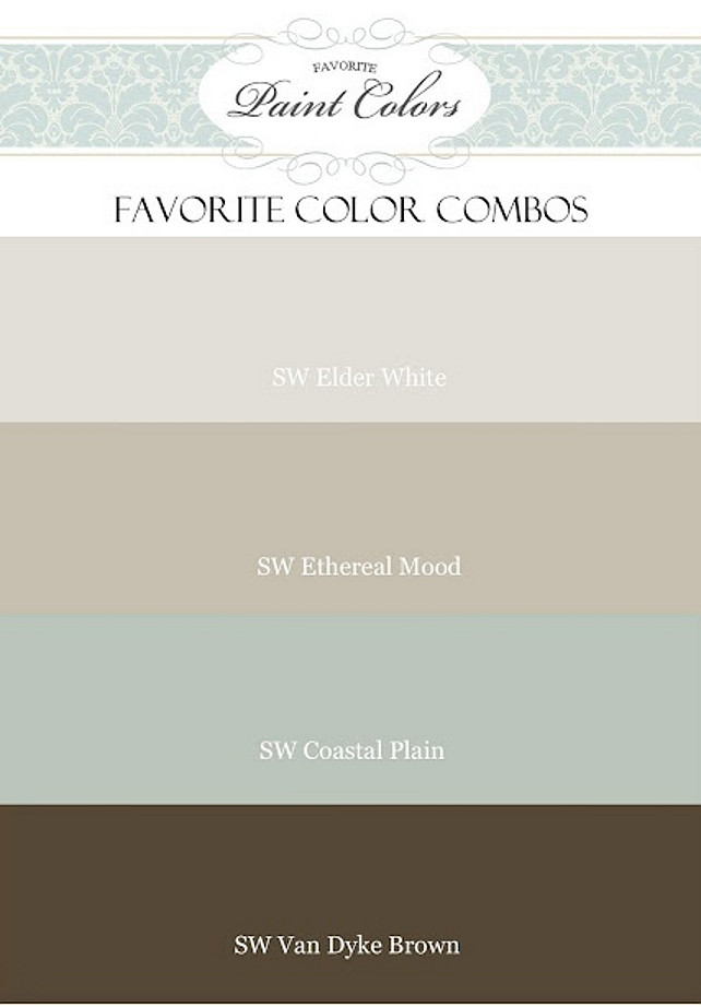 Paint Color Palette For Interiors Interior