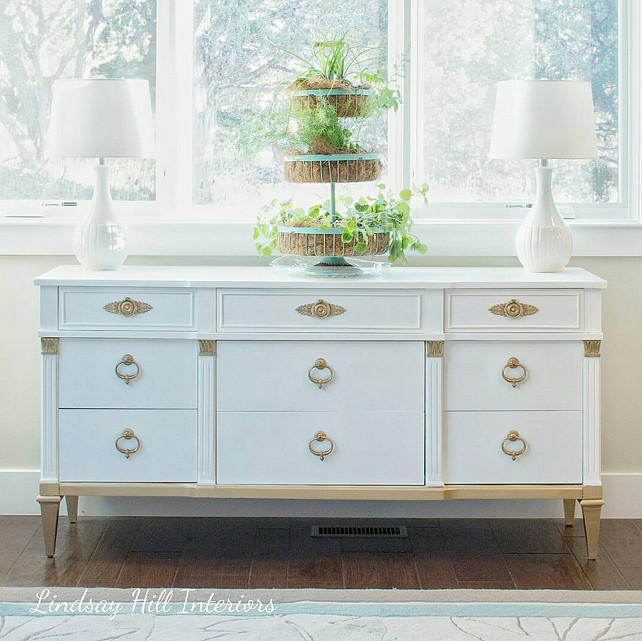Painted Furniture Inspiration. #paintedfurniture Lindsay Hill Interiors.