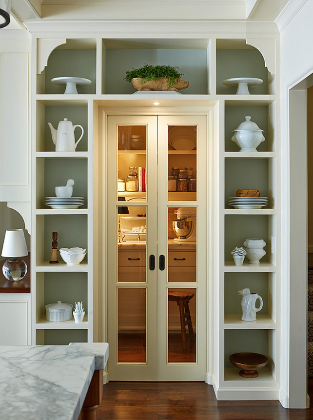 Pantry. Kitchen Pantry. Kitchen Pantry Design. Kitchen Pantry Ideas. #Kitchen #pantry #KitchenPantry Lorin Hill, Architect