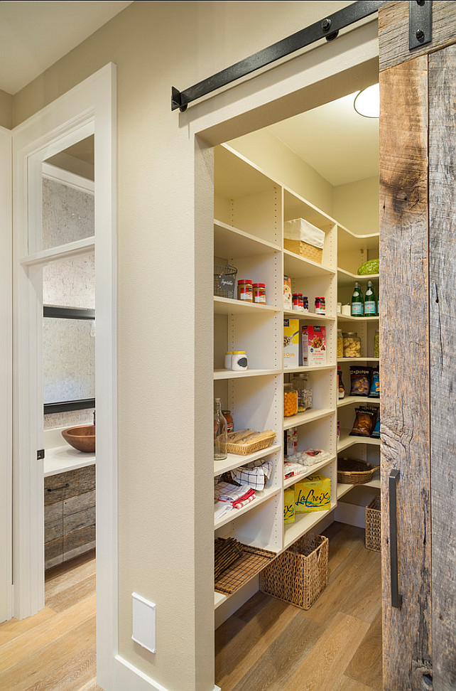 Kitchen pantry door ideas quotes for Kitchen pantry ideas