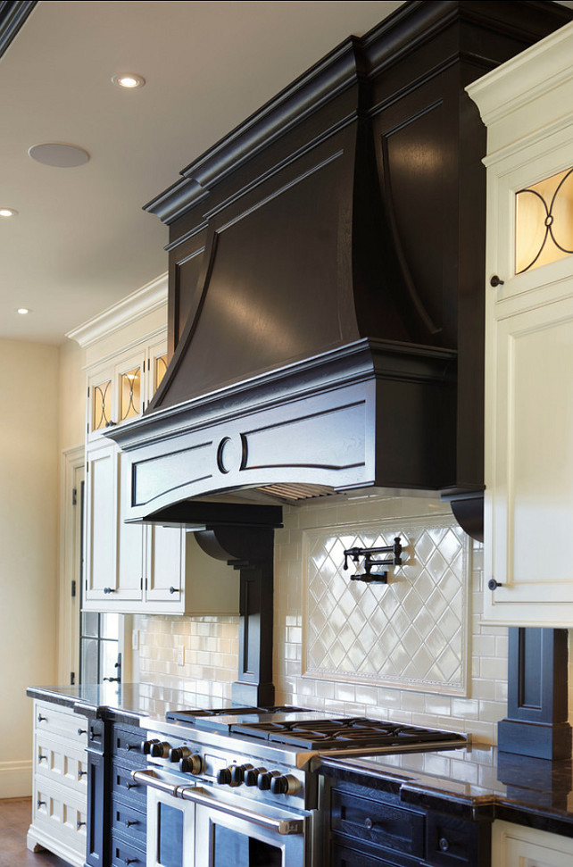 Black Chimney Style Range Hoods ~ Interior design ideas home bunch