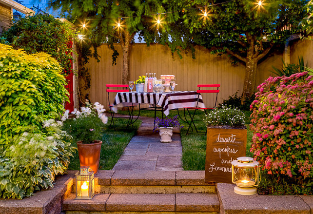Keeping your cool at night during summer home bunch for Decoration jardin soiree