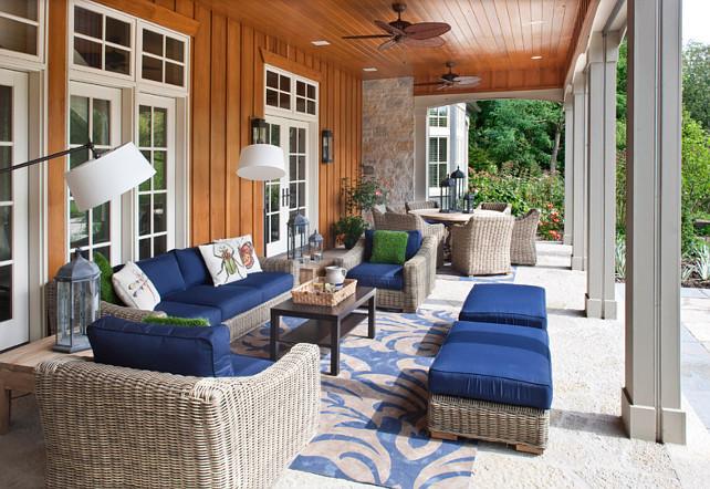 PorchDecor. Porch Decor Ideas. Porch Furniture. #Porch #PorchDecor #PorchFunriture Johnson Design Inc.