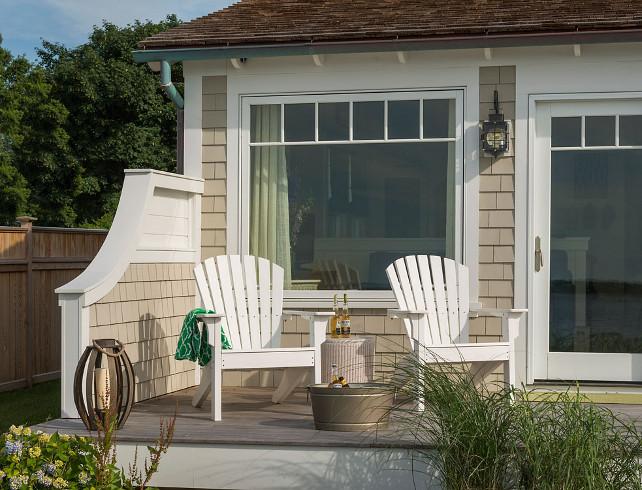 Small Beach Cottage with Inspiring Coastal Interiors ... on Beach House Patio Ideas id=58274
