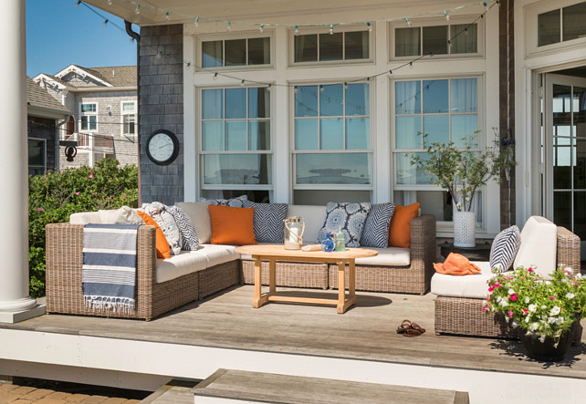 Patio Furniture Ideas Outdoor Sofa Sectional Is The Kingsley Bate Sag Harbor Sectional