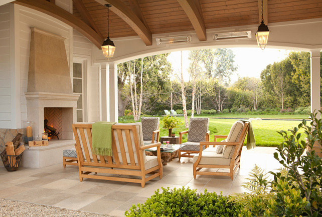 Patio Ideas Outdoor Fireplace #PatioIdeas. #Patio #OutdoorFireplace  Jackson Paige Interiors, Inc.
