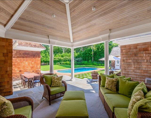 Patio Ideas. Patio Decor Ideas. Patio Furniture. #Patio #PatioFurniture #PatioDecor #PatioDecor  Via Sotheby's Homes.