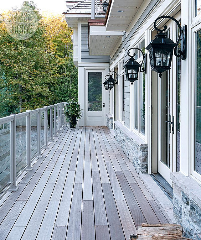 Patio Lighting Ideas. #patio #Lighting Via Style at Home.