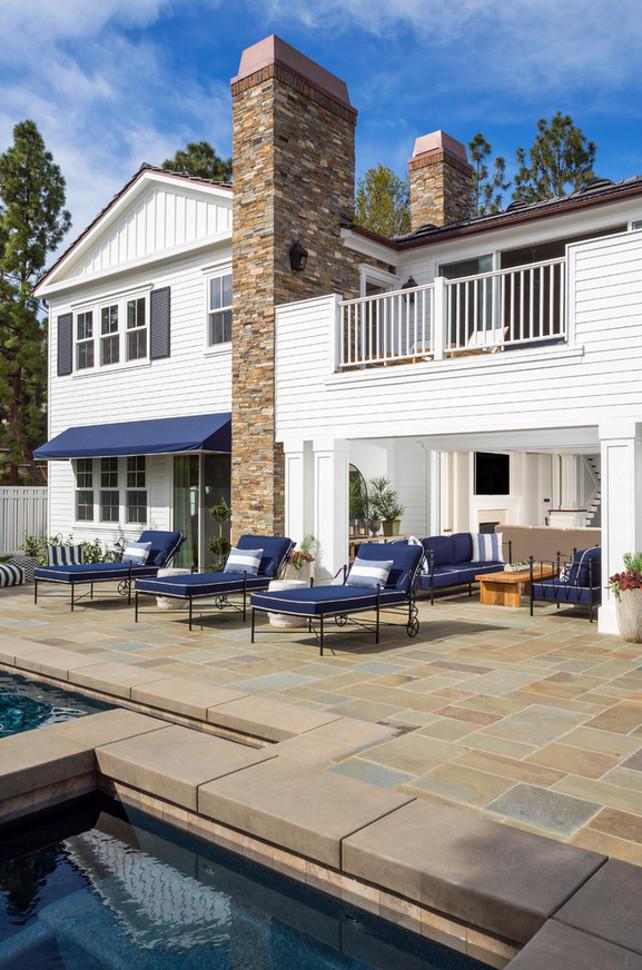 Patio Stone. Blue stone patio stone. Pool blue stone patio. Legacy Custom Homes, Inc.