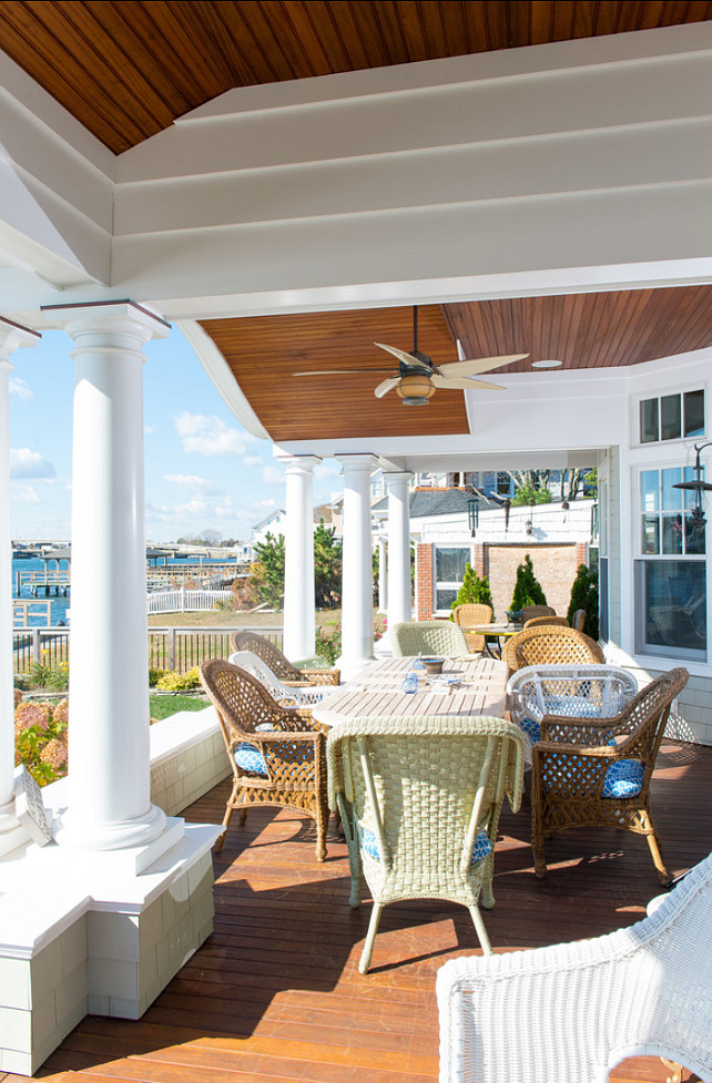 Patio. Patio Decor Ideas. Coastal Patio Decor. #Patio #PatioDecor #PatioFurniture #CoastalPatio