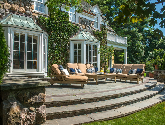 Patio. Patio Ideas. Patio Furniture. Patio Stone Flooring. Patio Layout. Patio Design #Patio Via Sotheby's Homes.