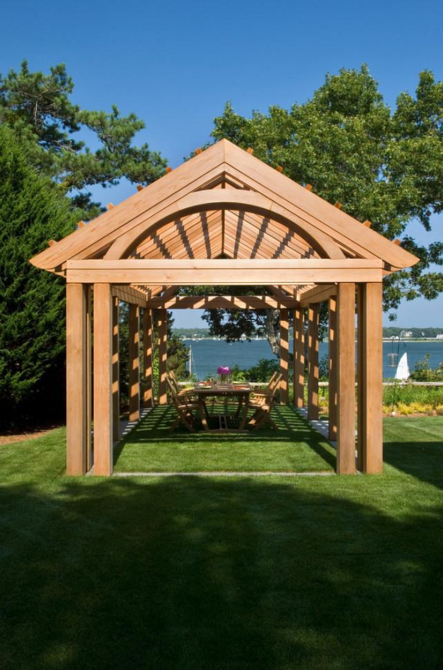 Pergola Ideas. Garden Pergola Ideas #Pergola #gardens Polhemus Savery DaSilva.