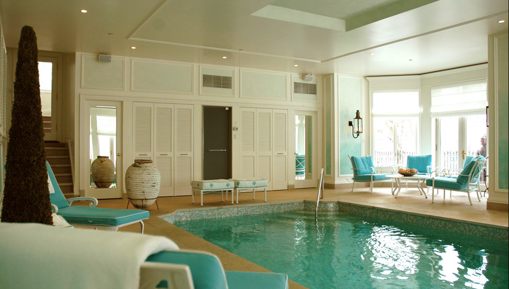 Indoor pool my personal oasis for the home pinterest for Design pool klein