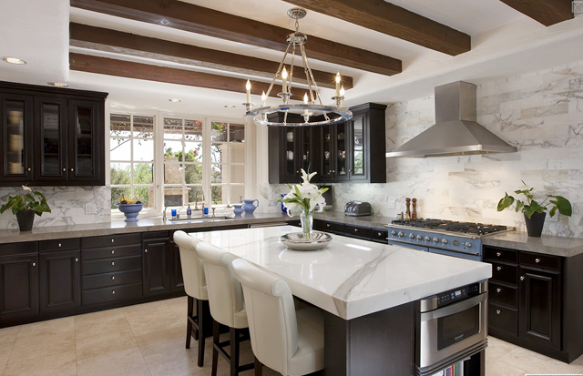 "Beautiful Dark Kitchens tag archive for ""montecito houses for sale"" - home bunch"