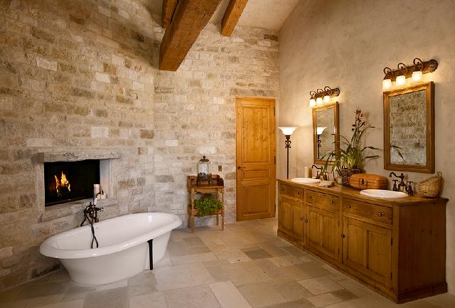 Baños Modernos Fotos:Rustic Villa – Home Bunch – An Interior Design & Luxury Homes Blog