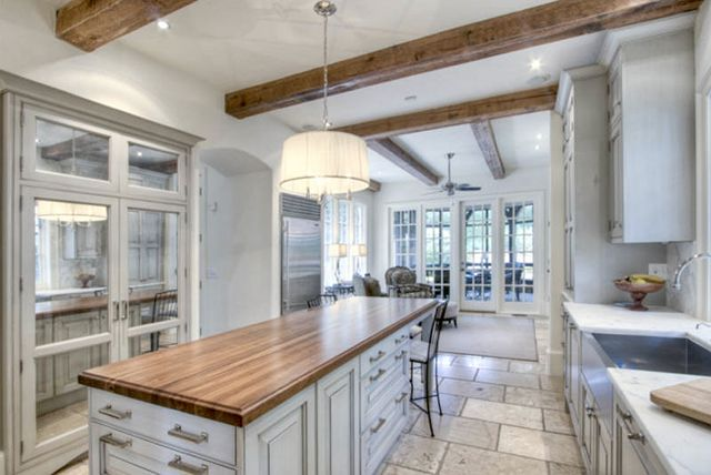 This Is A Great Example Of A Narrow Yet Beautiful Kitchen