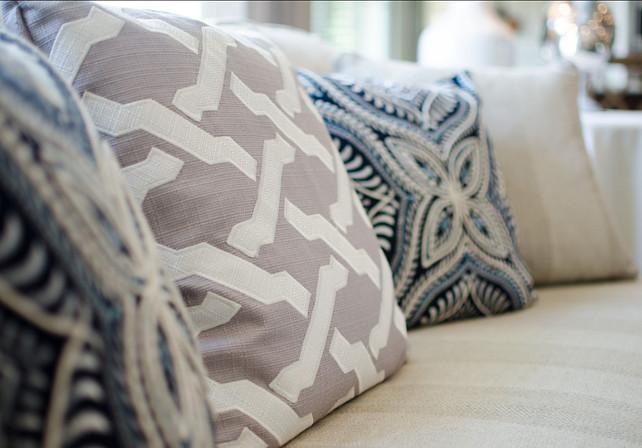 Pillow Fabric Inspiration. Pillow Fabrics. Pillow Fabric Ideas. #PillowFabric #PillowFabricIdeas #Pillows #Fabric