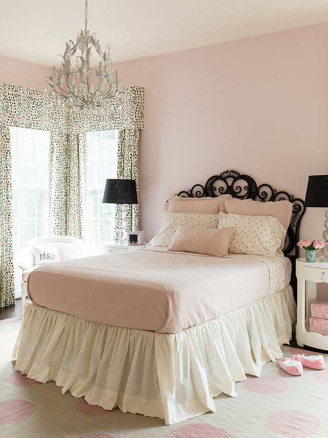 Adult pink bedroom