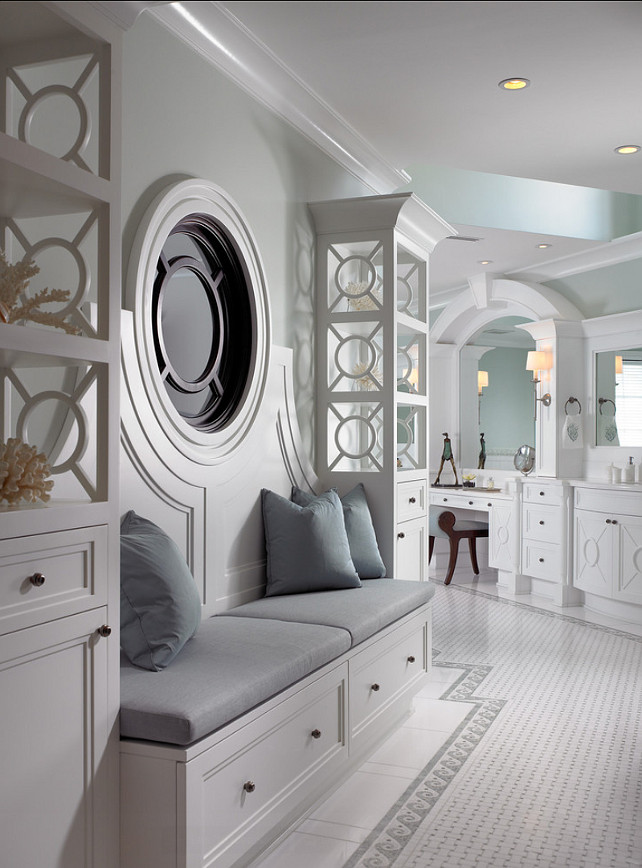 Bathroom Design. This is a dream bathroom. Love the design! So unique. #BathroomDesign
