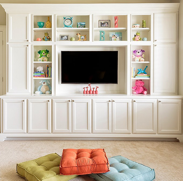 Playroom Storage Ideas. #Playroom #Storage