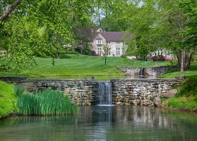 Pond Backyard. Pond Backyard Ideas. #Pond #Backyard #PondBackyard The Sivel Group.
