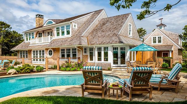 Pool Area Design Ideas. Pool. Fenced Pool Area. Pool Fence. #PoolPolhemus Savery DaSilva Architects Builders.