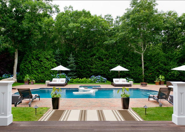 Pool Design Ideas. Great backyard with pool design ideas. #PoolDesign #PoolIdeas #Backyard