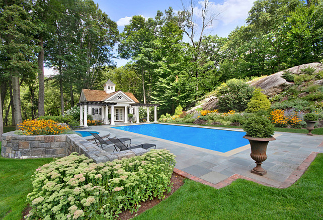 Pool Landscaping Ideas #Pool #landscaping #Backyard Significant Homes LLC.