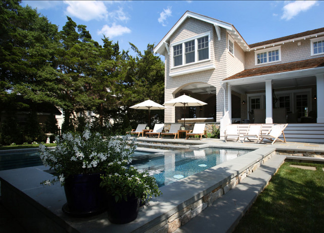 Pool and Backyard. Great backayrd with pool and spa. #Pool #BackyardPool #PoolIdeas #PoolDesign #Spa