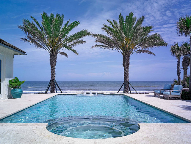 Pool. Beachfront pool. Ocean front pool. #Pool #Beach #BeachFront