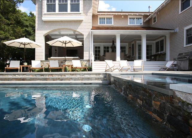 Pool. Great backyard with pool and spa. #Pool
