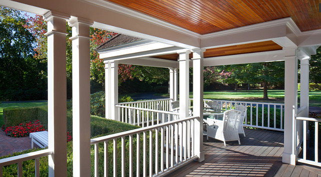 Porch Railing. Porch Railing Ideas. Anthony Crisafulli Photography. Sudbury Design Group.